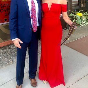 Red Lulu's bridesmaid / formal dress